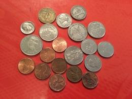 LOT DE 20 Pièces Voir Scan - Coins & Banknotes