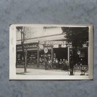 Carte Photo-12-Millau-Grand Garage Du Rouergue-A.GOMBERT-Pompe à Essence-Devanture - Millau