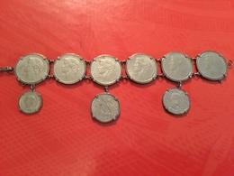 Bracelet 9  Pièces Du Portugal (TTB) - Coins & Banknotes
