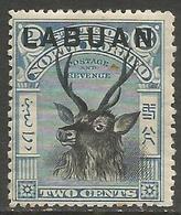 Labuan - 1897 Sambar Stag 2c MH *    SG 90 - North Borneo (...-1963)