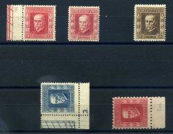 TCHECOSLOVAQUIE 1920 N° 199/202 NEUFS  (LUXE OU Trace De Charnière Légère) - Tchécoslovaquie