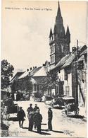 38 - CORPS - Rue Des Fossés Et L'Eglise - Sortie De La Messe - Animation, Carrioles - Edition MADOUX  - Cl PRAYER - Corps