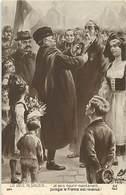 -ref X222- Guerre 1914-18- Illustrateurs - Illustrateur - Alsace - Le Vieil Alsacien Décoré Par Clemenceau  - - Guerra 1914-18