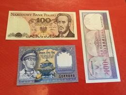 LOT3 Billets Voir Scan SUP - Coins & Banknotes
