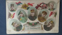 CPA TOUS CONTRE LES BARBARES - Guerre 1914-18