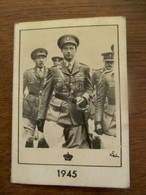 Kleine Kalender 1945 Met Koning  Leopold ||| - 1939-45