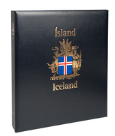 Davo Luxe Postzegelalbum Ijsland II 1990-2009 - Albums & Bindwerk