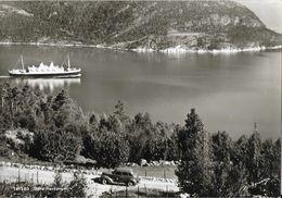 Norvège - Hardangerfjord - Indre Hardanger, Bateau Voiture - Carte Non Circulée - Norvège