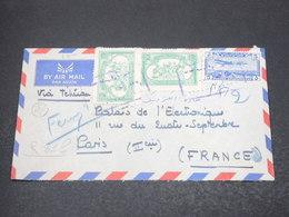 AFGHANISTAN - Enveloppe Pour La France En 1960 , Affranchissement Plaisant - L 16939 - Afghanistan