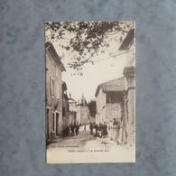 CPA-30-TAVEL-La Grande Rue-Animée - Frankreich