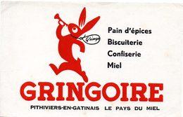 Buvard Pain D'épices Gringoire - Pain D'épices