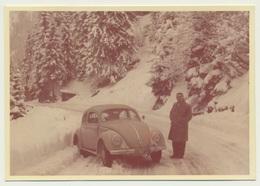 Foto Photo Car Auto Voiture VW Volkswagen Käfer Beetle Coccinelle Original - Automobili