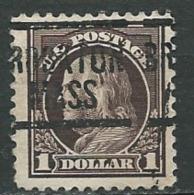 Etats Unis -     -  Yvert N°   192 B   Oblitéré - Bce 14417 - United States