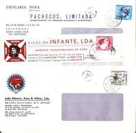 PORTUGAL Three Short Paid Letters From Setubal - 1910-... República
