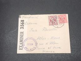 ALLEMAGNE - Enveloppe De Bad Zalzuflen Pour La France En 1946 Avec Contrôle Postal - L 16949 - Zona Anglo-Americana