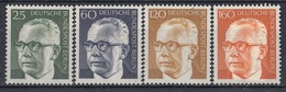 GERMANY Berlin 393-396,unused - Timbres