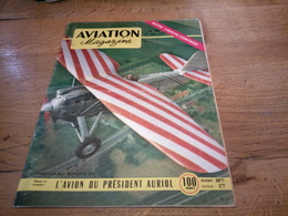 156/AVIATION MAGAZINE N°  56 Doret Sur Son Dewoitine D 27 , L Avion Du President Auriol - Aviation