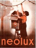 Buvard Neolux, Lampes, Ampoules électriques - Carte Assorbenti