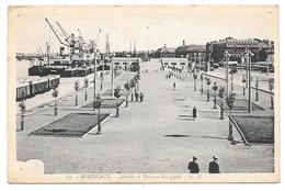 33 - BORDEAUX - Jardins Et Terrasse Des Quais - Ed. MD N° 63 - 1936 - Bordeaux