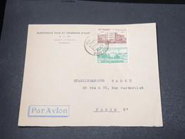 SYRIE - Enveloppe Commerciale De Alep Pour Paris En 1954 - L 16962 - Syrie