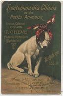 Pub Cabinet Veterinaire Chien Ratier Jack Russel Chevé 94 Avenue Victor Hugo Defauts Coins - Santé