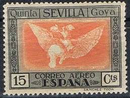 Sello 15 Cts La Quinta De GOYA Aereo 1930, Num 520 ** - Neufs