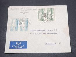 SYRIE - Enveloppe Commerciale De Alep Pour Paris En 1952 - L 16965 - Syrie