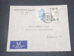 SYRIE - Enveloppe Commerciale De Alep Pour Paris En 1950 - L 16966 - Syrie