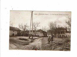 Cpa VOULON La Place Vue Du Chemin De La Balade Enfants à La Pose 10209 - France