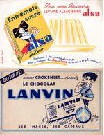 Lot De 7 Buvards Second Choix, Thèmes Divers. 3 Photos. - Buvards, Protège-cahiers Illustrés