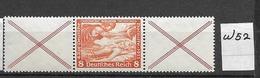 1933 MNH Germany, Wagner, W52 - Se-Tenant