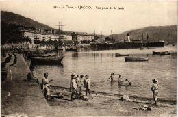 CPA CORSE- Ajaccio- Vue Prise De La Jetée. (710226) - Ajaccio