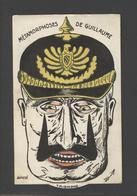 -ref X257- Guerre 1914-18- Carte Systeme A Roulette - Metamorphoses De Guillaume 2 Le Kaiser - Satirique - - Guerre 1914-18