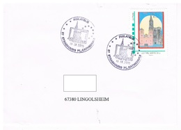Strasbourg Pl. Cathédrale Philatélie 19.IX.2015 - Alsazia-Lorena