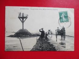 CPA 85 NOIRMOUTIER PASSAGE DU GOA BALISE REFUGE ATTELAGES  ANIMEE - Noirmoutier