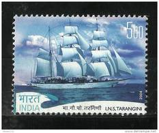 INDIA, 2004, INS Tarangini Circumnavigation Voyage,  Ship,  MNH,(**) - Barcos
