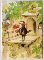 Fritz Baumgarten , Ich Freue Mich So ! Aus Dem Bilderbuch Die Vogelhochzeit - Künstlerkarten