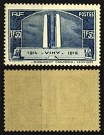 France N° 317 Neuf ** (MNH) Cote 37 Euros - TTB Qualité - France