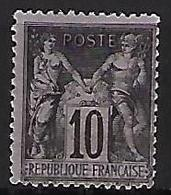"FR YT 103 "" Sage 10c. Noir S. Lilas "" 1898 Neuf** - 1898-1900 Sage (Type III)"