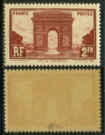 France N° 258 Neuf ** (MNH) Signé Calves Cote 95 Euros - TTB Qualité - Neufs