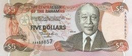 Bahamas 5 Dollars, P-63b 2001 UNC - Bahamas