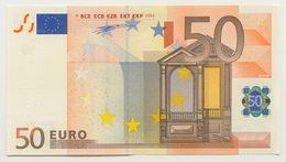 05 - BILLET 50 EURO 2002 FRANCE NEUF Signature Wim Duisenberg N° U16062735056 - Imp L003B3 - EURO