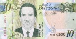 Botswana 10 Pula, P-30a (2009) UNC - Botswana