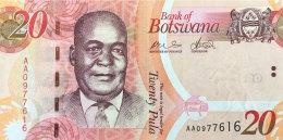 Botswana 20 Pula, P-31a (2009) UNC - Botswana