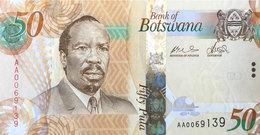 Botswana 50 Pula, P-32a (2009) UNC - Botswana