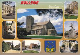 84 BOLLENE /  MULTIVUES ET BLASON - Bollene