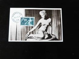MONACO   CARTE MAXIMUM  LA NYMPHE SALMACIS - Maximum Cards
