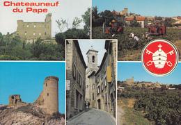 84 CHATEAUNEUF DU PAPE / MULTIVUES ET BLASON - Chateauneuf Du Pape