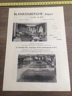 1947 CASINO BLANKENBERGHE - Vieux Papiers