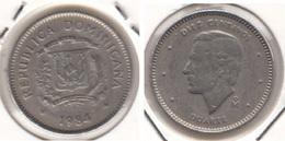Dominican Republic 10 Centavos 1984 Km#60 - Used - Dominicana